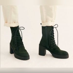 New Free People Dylan Lace-Up Boot size 40